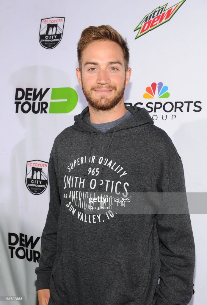 Professional Snowboarder <a gi-track='captionPersonalityLinkClicked' href=/galleries/search?phrase=Scotty+Lago&family=editorial&specificpeople=787593 ng-click='$event.stopPropagation()'>Scotty Lago</a> walks the green carpet at the Dew Tour Brooklyn Mountain Dew Kickoff Party on Thursday, Sept. 18th at the House of Vans in New York, NY. The event, featuring performances by Bleachers and J. Cole, celebrated the 10th anniversary of Dew Tour. Dew Tour Brooklyn will be held on Sept. 20th and 21st at House of Vans.