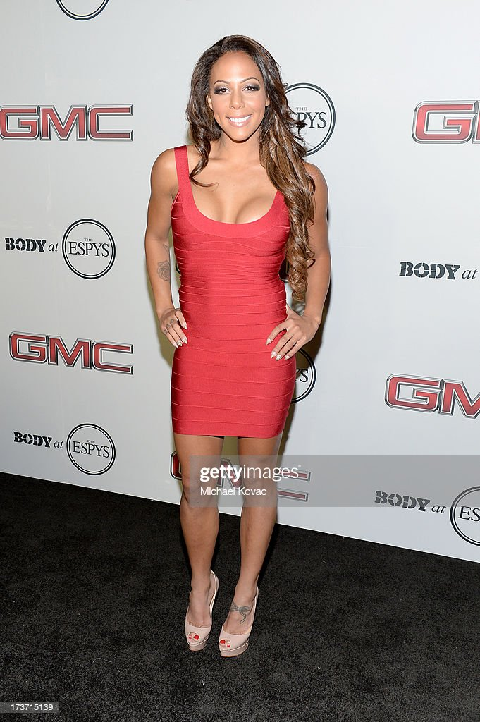 Professional soccer player Sydney Leroux attends ESPN the Magazine 5th annual 'Body Issue' party at Lure on July 16, 2013 in Hollywood, California.