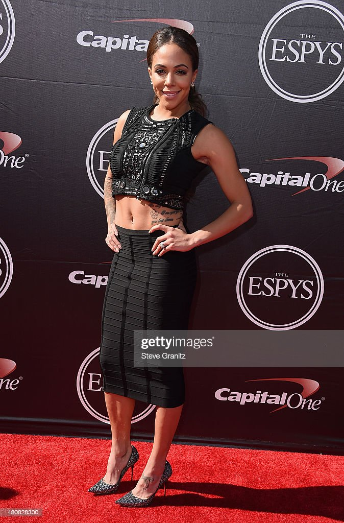 Professional soccer player Sydney Leroux attends The 2015 ESPYS at Microsoft Theater on July 15, 2015 in Los Angeles, California.