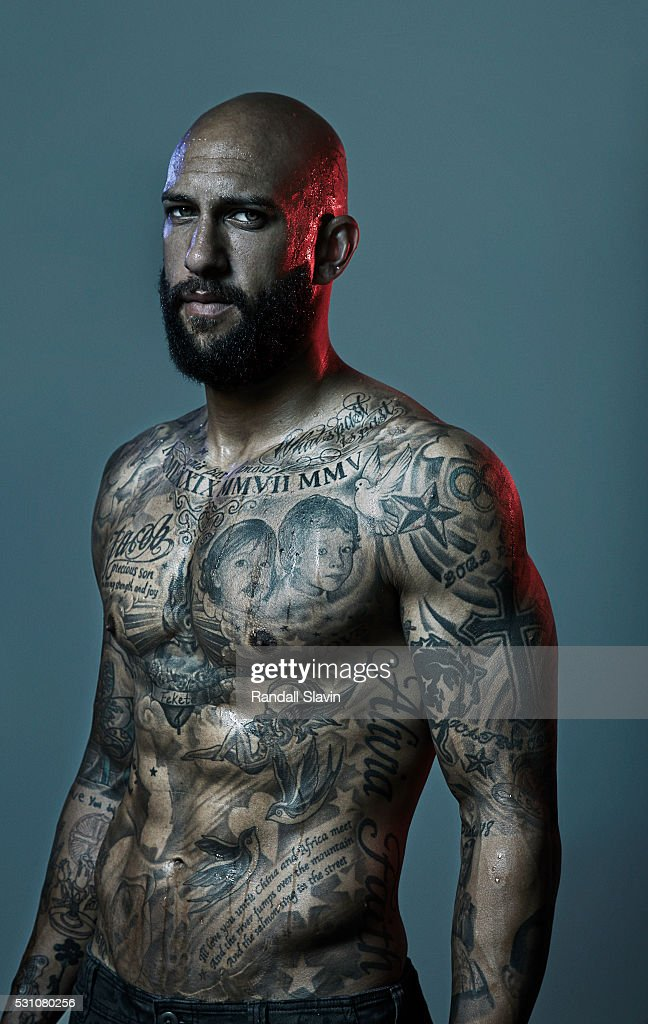 Professional soccer player Tim Howard is photographed for Ad Week on July 10, 2014 in Memphis, Tennessee.