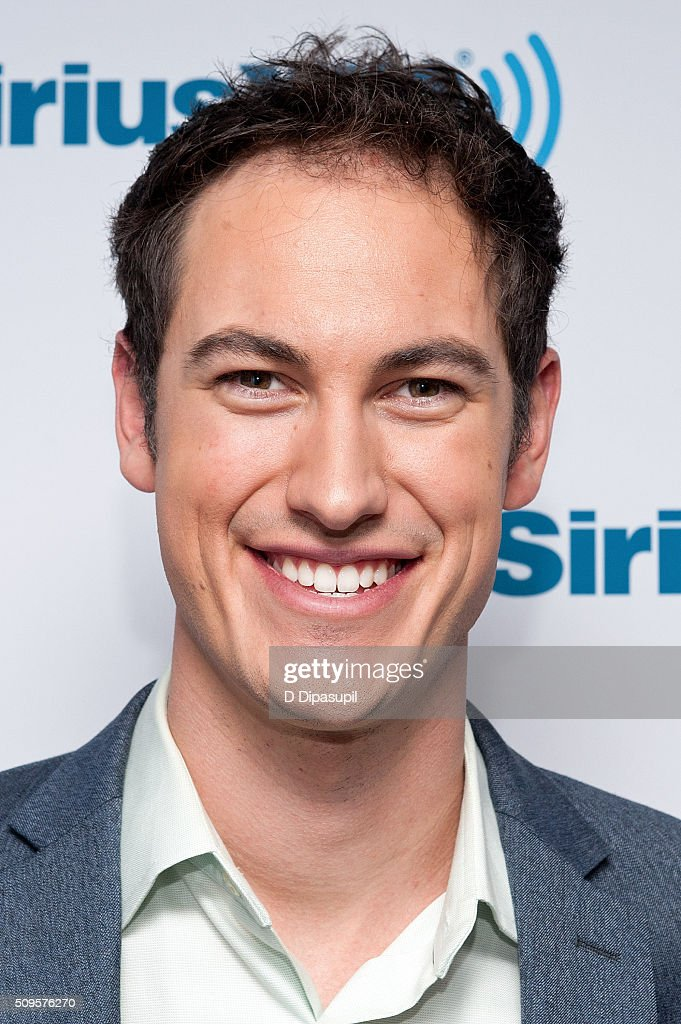 Professional stock car racing driver Joey Logano visits SiriusXM Studios on February 11, 2016 in New York City.