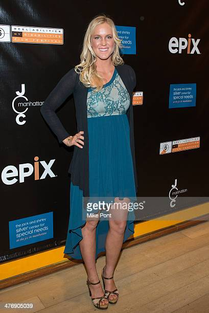 Professional Surfer Bethany Hamilton attends 'The Current' screening at The Times Center on March 5 2014 in New York City