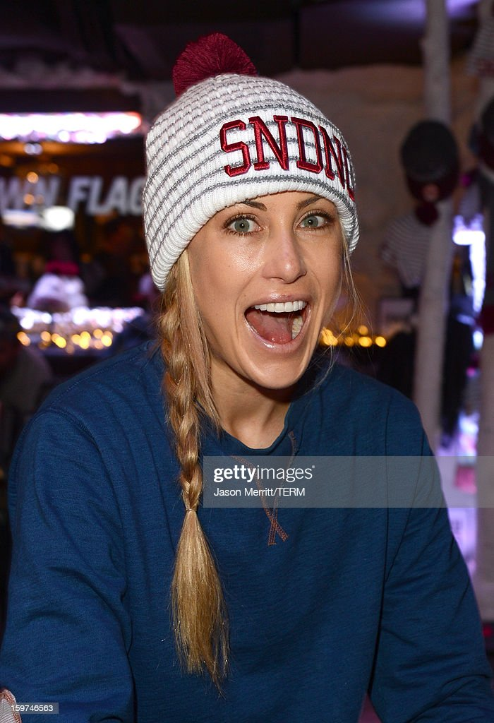 Professional surfer Erica Hosseini attends the Oakley Learn To Ride In Collaboration With New Era on January 19, 2013 in Park City, Utah.