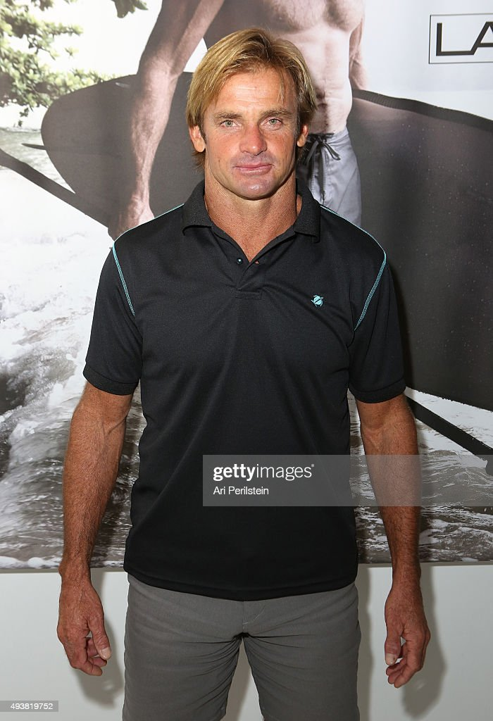 Professional surfer Laird Hamilton attends the launch of his clothing line Laird Apparel by Laird Hamilton at Ron Robinson on October 22, 2015 in Santa Monica, California.