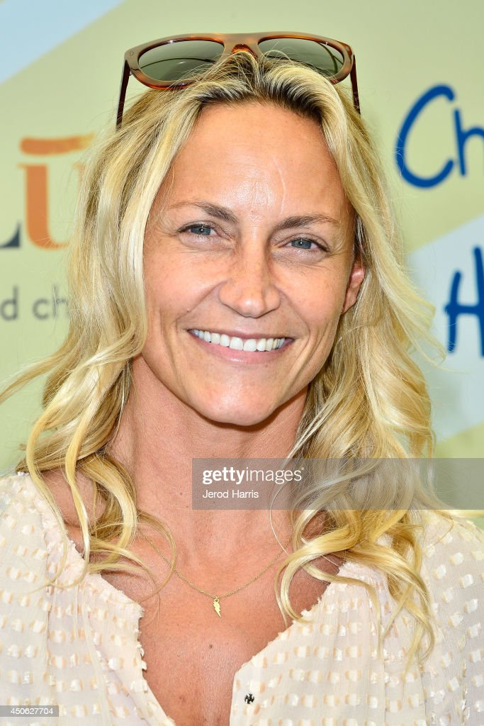 Professional surfer Lisa Andersen arrives at Children Mending Hearts' 6th Annual Fundraiser 'Empathy Rocks: A Spring Into Summer Bash' on June 14, 2014 in Beverly Hills, California.