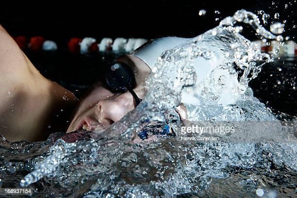 Professional swimmer