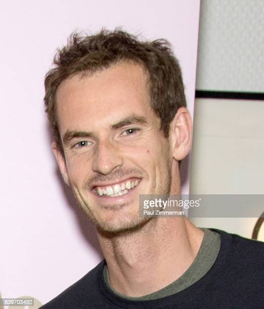 Professional tennis player Andy Murray attends US Open Weekend to Introduce The New Roche Bobois Presidential Suite At Langham Place New York on...