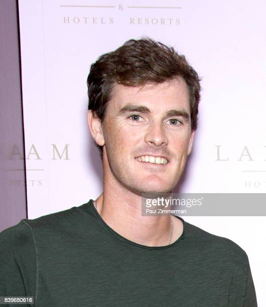 Professional tennis player Jamie Murray attends US Open Weekend to Introduce The New Roche Bobois Presidential Suite At Langham Place New York on...