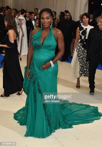 Professional tennis player Serena Williams attends 'Rei Kawakubo/Comme des Garcons Art Of The InBetween' Costume Institute Gala at Metropolitan...