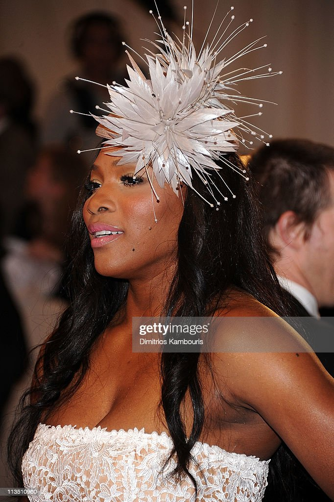 Professional tennis player Serena Williams attends the 'Alexander McQueen: Savage Beauty' Costume Institute Gala at The Metropolitan Museum of Art on May 2, 2011 in New York City.