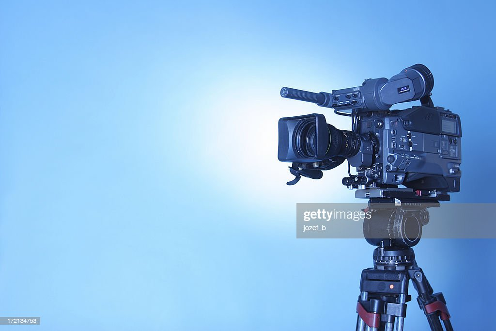 Professional TV CAM - 3 (cl. path) : Stock Photo