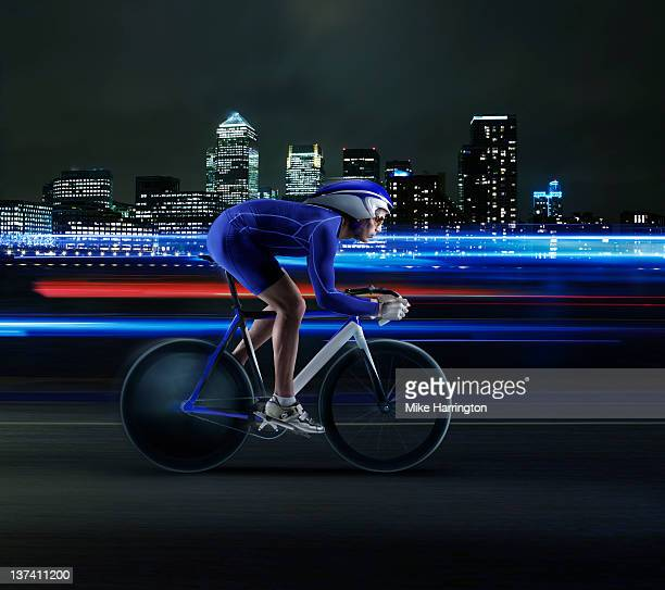 Professional Velodrome cyclist in London