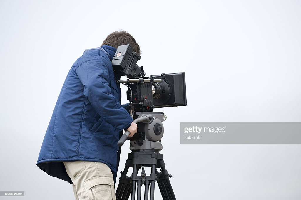 professional video cameraman
