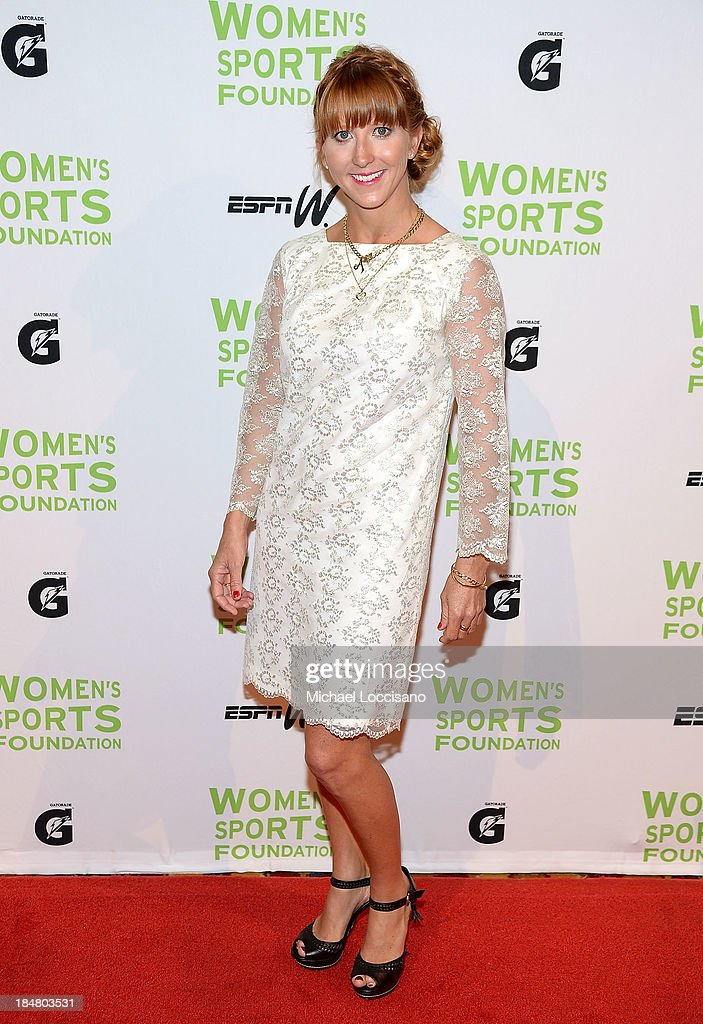 Professional Wakeboarder Amber Wing attends the 34th annual Salute to Women In Sports Awards at Cipriani, Wall Street on October 16, 2013 in New York City.