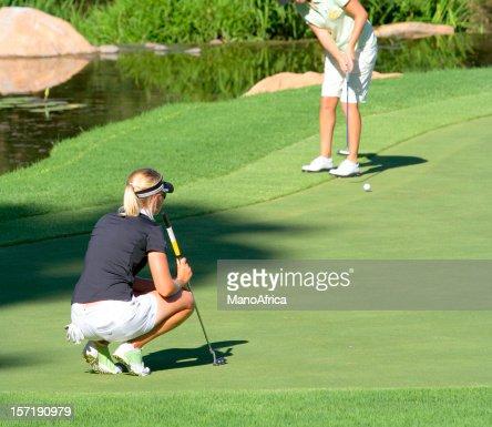 Professional Woman Golfer three