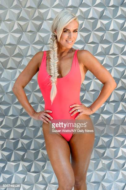 Professional wrestler and actress CJ Perry photographed for NY Daily News on August 16 in New York City