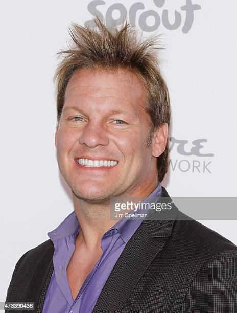 Professional Wrestler Chris Jericho attends the 2015 NBCUniversal Cable Entertainment Upfront at The Jacob K Javits Convention Center on May 14 2015...