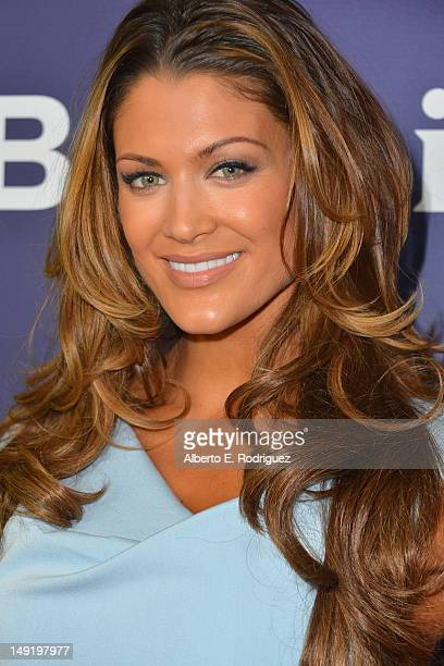 Professional wrestler Eve Torres attends NBC Universal's 2012 Summer TCA Tour at The Beverly Hilton Hotel on July 24 2012 in Beverly Hills California