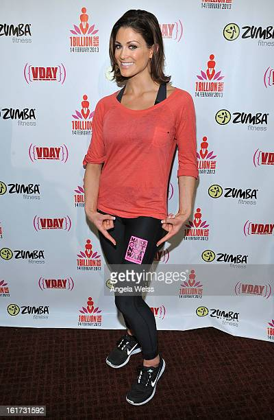 Professional wrestler Eve Torres attends One Billion RisingRise with VDay and Zumba Fitness One Billion Rising a Global Day of Action to End Violence...