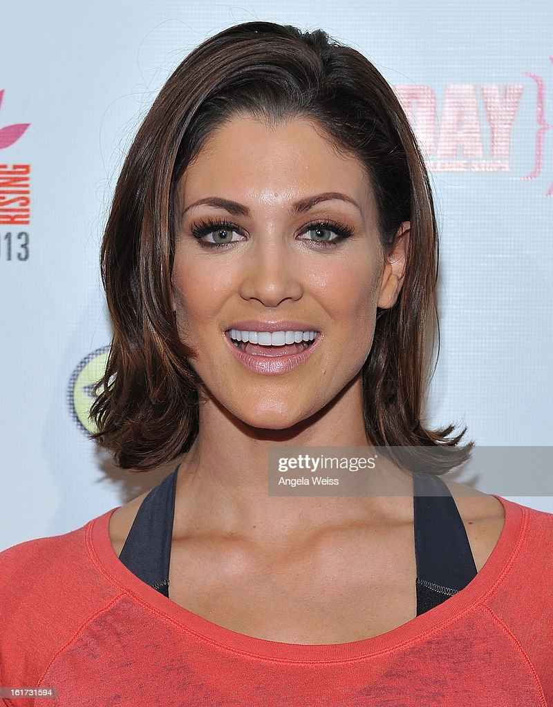 Professional wrestler Eve Torres attends One Billion Rising-Rise with V-Day and Zumba Fitness, One Billion Rising, a Global Day of Action to End Violence against Women and celebrate V-Day's 15th Anniversary at LA Live on February 14, 2013 in Los Angeles, California.