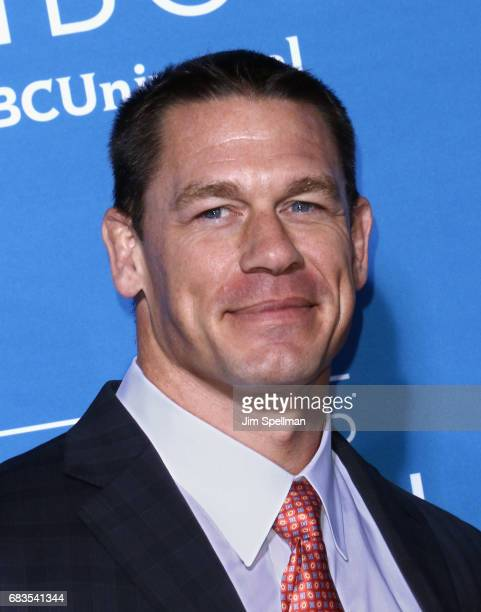 Professional wrestler John Cena attends the 2017 NBCUniversal Upfront at Radio City Music Hall on May 15 2017 in New York City