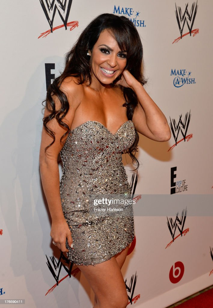 Professional wrestler Layla El attends WWE & E! Entertainment's 'SuperStars For Hope' at the Beverly Hills Hotel on August 15, 2013 in Beverly Hills, California.