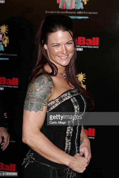 Professional wrestler Lita born Amy Dumas attends Dodgeball The Celebrity Tournament to benefit the Elizabeth Glaser Pediatric Aids Foundation and...