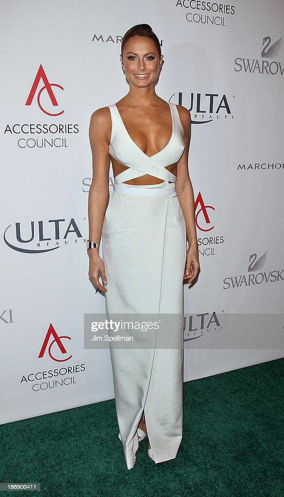 Professional Wrestler <a gi-track='captionPersonalityLinkClicked' href=/galleries/search?phrase=Stacy+Keibler&family=editorial&specificpeople=3031844 ng-click='$event.stopPropagation()'>Stacy Keibler</a> attends the 17th annual ACE Awards at Cipriani 42nd Street on November 4, 2013 in New York City.