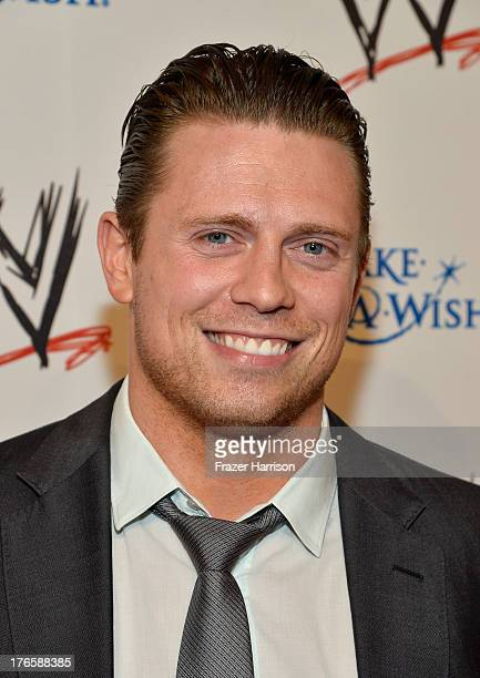 Professional wrestler The Miz attends WWE E Entertainment's 'SuperStars For Hope' at the Beverly Hills Hotel on August 15 2013 in Beverly Hills...
