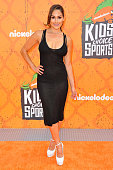 Professional wrestler/actress Nikki Bella arrives at the Nickelodeon Kids' Choice Sports Awards 2016 at UCLA's Pauley Pavilion on July 14 2016 in...