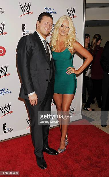 Black Women Wrestling Stock Photos and Pictures | Getty Images The Miz And Maryse 2013