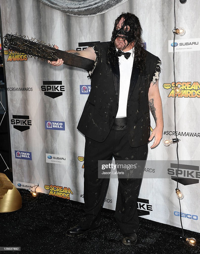 Professional wrestling Abyss attends Spike TV's 2011 Scream Awards at Gibson Amphitheatre on October 15, 2011 in Universal City, California.