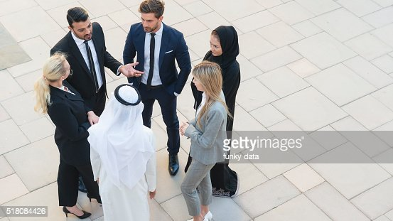 Professionals in Middle East