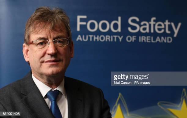 Professor Alan Reilly from the Food Safety Authority of Ireland in Dublin