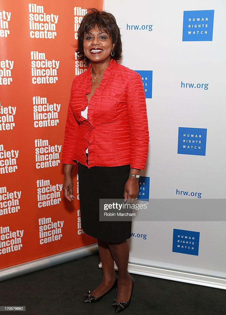 Professor <a gi-track='captionPersonalityLinkClicked' href=/galleries/search?phrase=Anita+Hill&family=editorial&specificpeople=655733 ng-click='$event.stopPropagation()'>Anita Hill</a> attends the 'Anita' Premiere during the 2013 Human Rights Watch Film Festival at The Film Society of Lincoln Center, Walter Reade Theatre on June 14, 2013 in New York City.