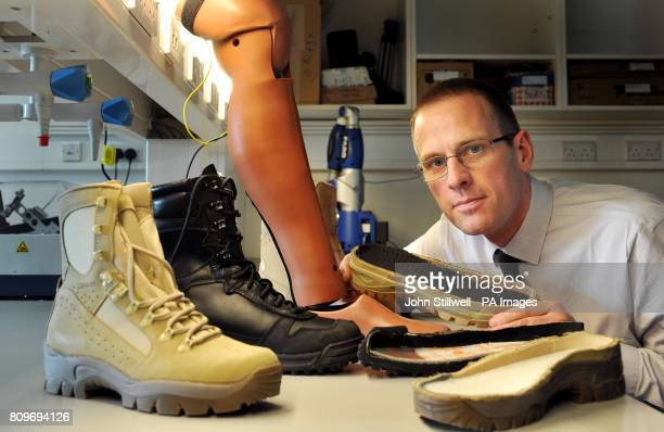 Professor Anthony Bull from the Department of Bioengineering at Imperial College London in his laboratory at the college where he is studying the...