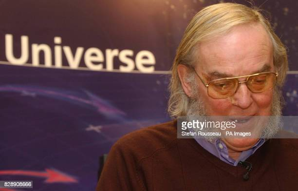 Professor Colin Pillinger attends a press conference in London where he discussed the progress of 'Beagle 2 ' the Mars lander which they hoped to...