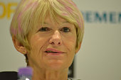 Professor Dame Nancy Rothwell ViceChancellor at the University of Manchester and President of the EuroScience Open Forum 2016 Conference speaking at...