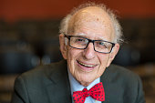 Professor Eric Kandel Nobel Prize winning neuroscientist on Day 1 of the FT Weekend Oxford Literary Festival on March 21 2015 in Oxford England