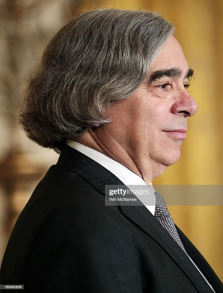 MIT professor Ernest Moniz listens as U.S. President Barack Obama announces his nomination as Energy Secretary during a ceremony in the East Room of the White House March 4, 2013 in Washington, DC. The nominations will be key appointments for Obama's second term while focusing on the issues of the national budget as well as energy and climate issues.