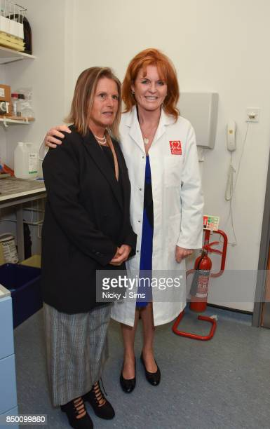 Professor Federica MarelliBerg with Sarah Ferguson The Duchess of York The Duchess of York is appointed as an official ambassador of The British...