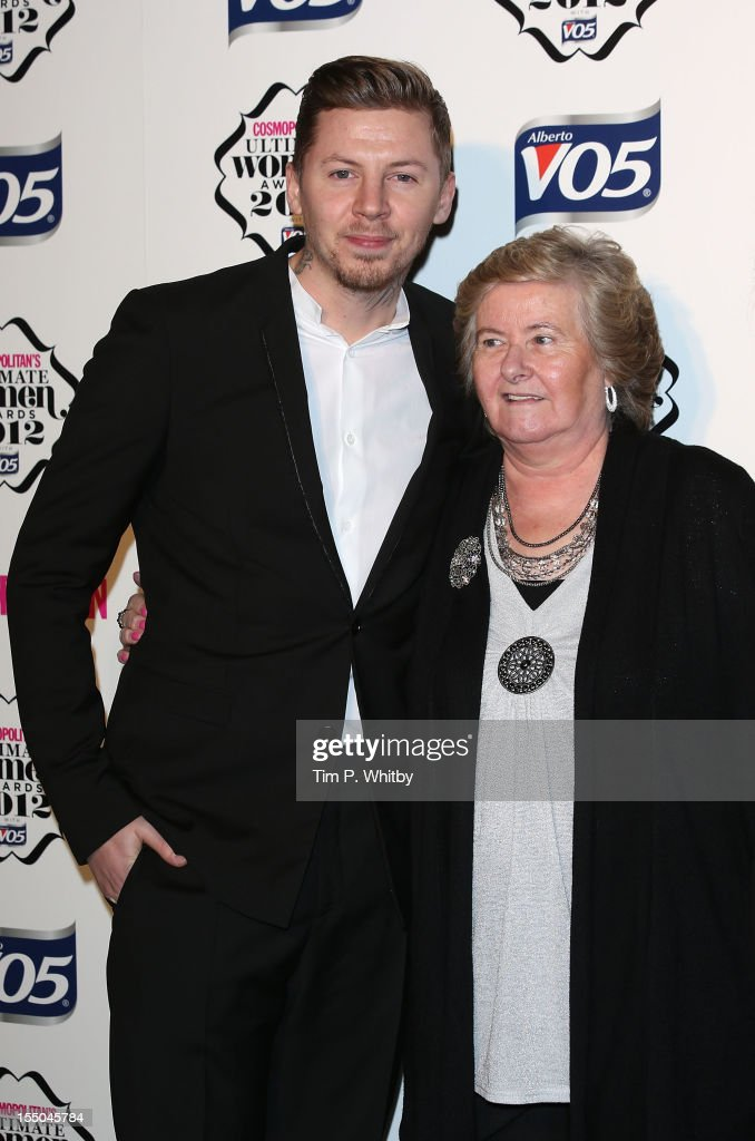 Professor Green and guest attend the Cosmopolitan Ultimate Woman of the Year awards at Victoria & Albert Museum on October 30, 2012 in London, England.