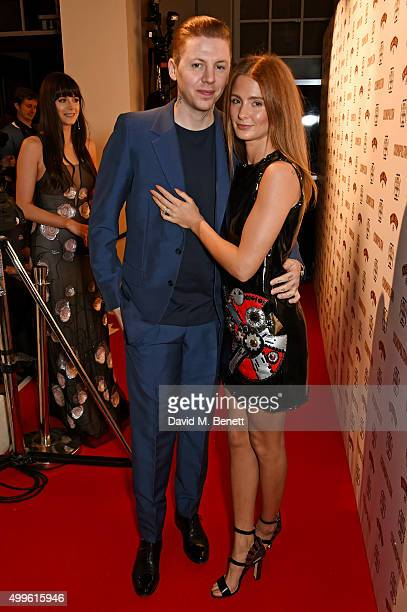 Professor Green and Millie Mackintosh attend the Cosmopolitan Ultimate Women Of The Year awards at One Mayfair on December 2 2015 in London England