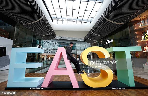 Professor Green attends a photocall to support #EastLDN as part of Westfield's 'We are LDN Summer' at Westfield Stratford City on August 14 2014 in...