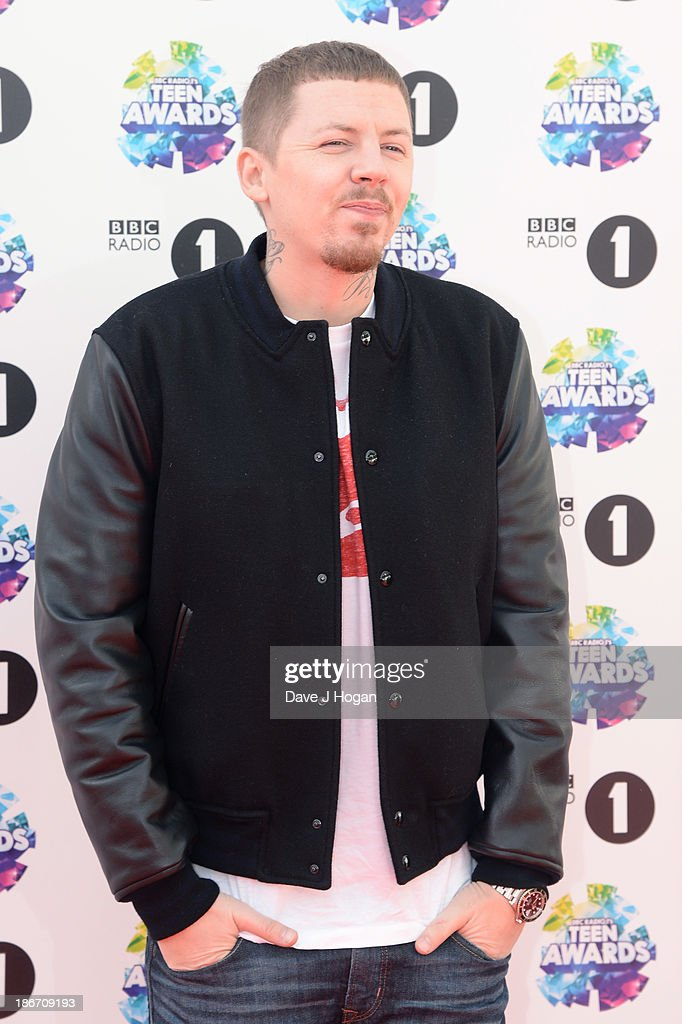Professor Green attends the BBC Radio 1 Teen Awards at Wembley Arena on November 3, 2013 in London, England.