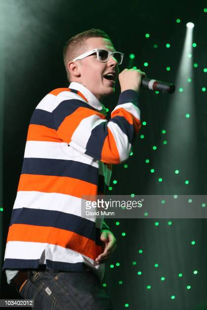 Professor Green performs at Radio City LIVE at Echo Arena on August 15 2010 in Liverpool England