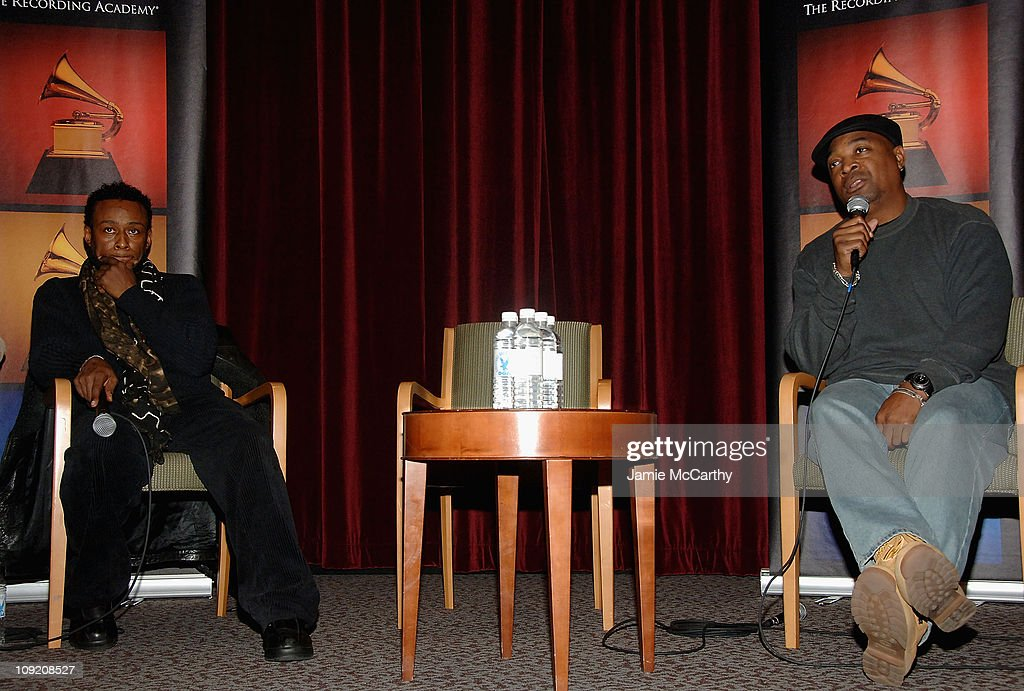 Professor Griff and Chuck D of Public Enemy attend the Recording Academy Private Industry Screening of 'Public Enemy: Welcome to the Terrordome' on December 21, 2007 at the Directors Guild of America in New York City.