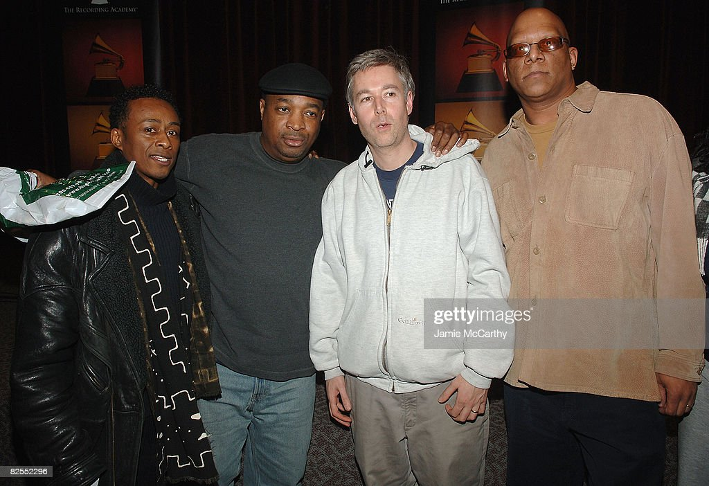 Professor Griff of Public Enemy,Chuck D of Public Enemy,Adam Yauch of The Beastie Boys and Walter Leaphart attend The Recording Academy Private Industry Screening - Public Enemys:a Welcome to the Terrordome at Directors Guild of America in New York December 21,2007