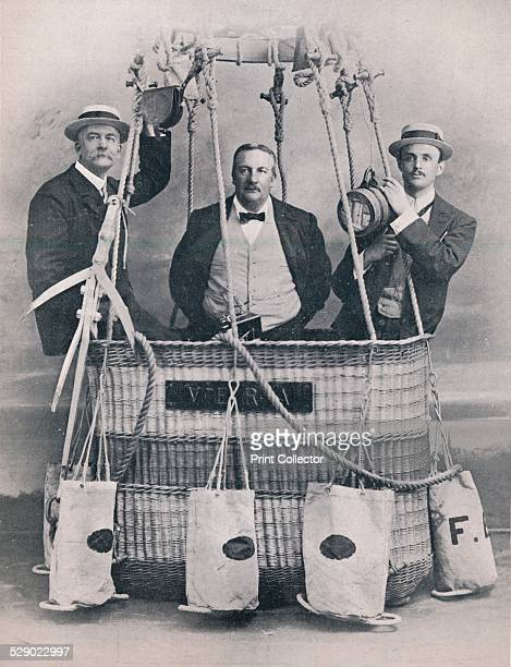 Professor Huntingdon Mr Frank Hedges Butler and the Hon C S Rolls 1906 The British crew who competed in the 1906 Gordon Bennett Cup Including Frank...