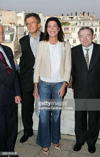 Professor JeanClaude Weill and HRH Princess Caroline of Hanover